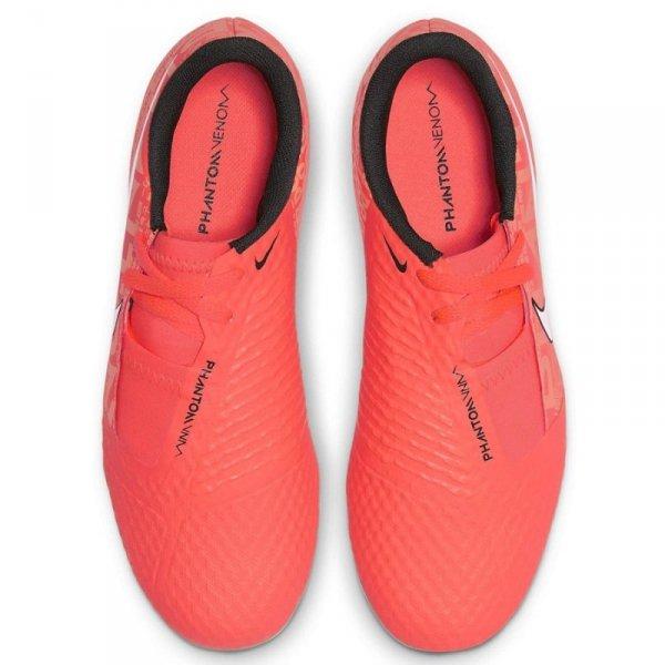 Buty Nike JR Phantom Venom Academy FG AO0362 810 pomarańczowy 34