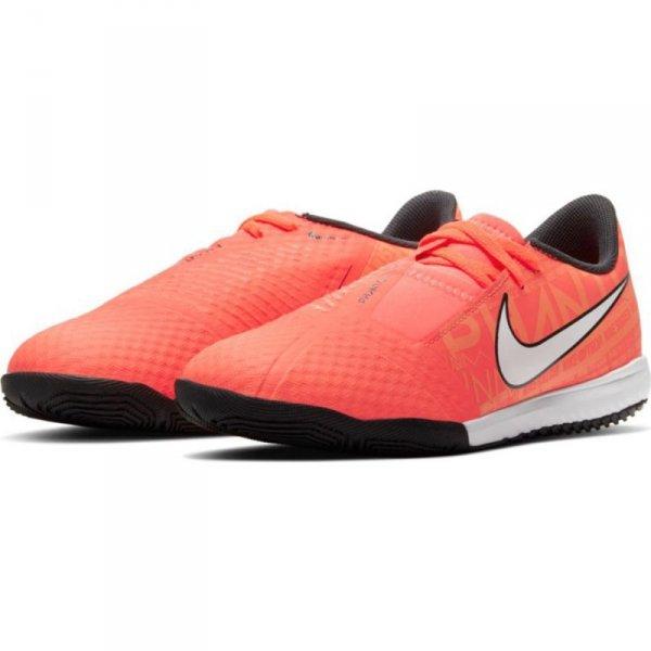 Buty Nike JR Phantom Venom Academy IC AO0372 810 pomarańczowy 35