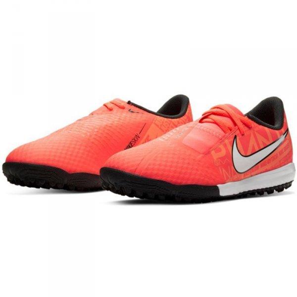 Buty Nike JR Phantom Venom Academy TF AO0377 810 pomarańczowy 31