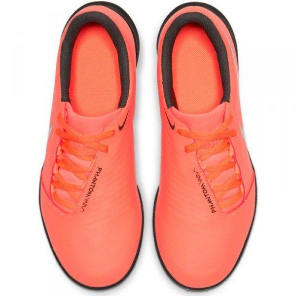 Buty Nike JR Phantom Venom Club TF AO0400 810 pomarańczowy 27 1/2