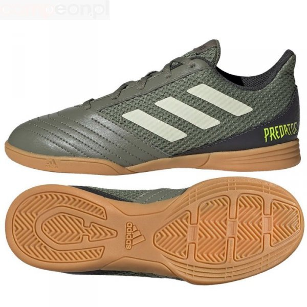 Buty adidas Predator 19.4 IN Sala J EF8224 zielony 38