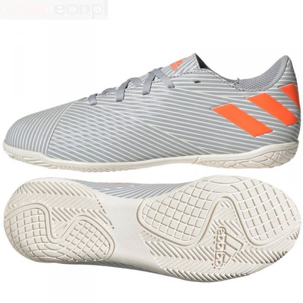 Buty adidas Nemeziz 19.4 IN J EF8307 szary 31