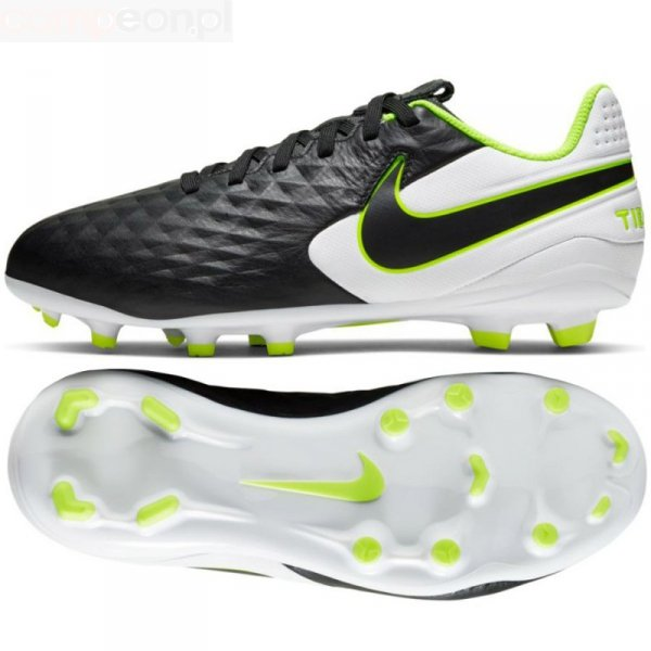 Buty Nike JR Tiempo Legend 8 Academy FG/MG AT5732 007 czarny 37 1/2