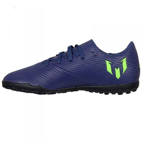 Buty adidas Nemeziz Messi 19.4 TF J EF1818 granatowy 30