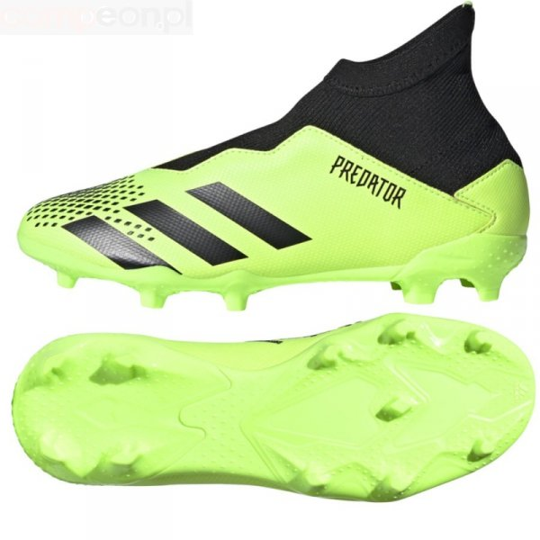 Buty adidas PREDATOR 20.3 LL FG J EH3019 zielony 33