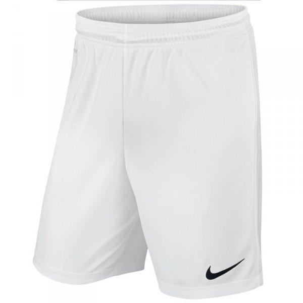 Spodenki Nike Park II Knit Junior 725988 100 biały XS