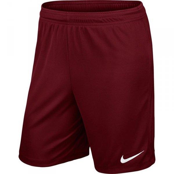 Spodenki Nike Park II Knit Junior 725988 677 czerwony S