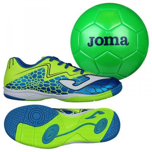 Buty Joma Super Copa JR IN SCJS.805.IN + Piłka Gratis niebieski 30