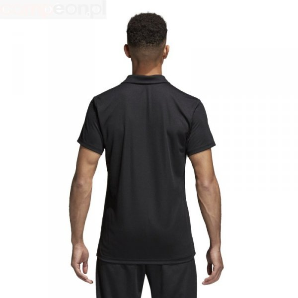 Koszulka adidas Polo Core 18 CE9037 czarny L
