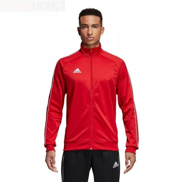 Bluza adidas CORE 18 PES JKT CV3565 czerwony S
