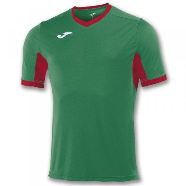 Koszulka Joma Champion IV 100683.456 zielony 152 cm