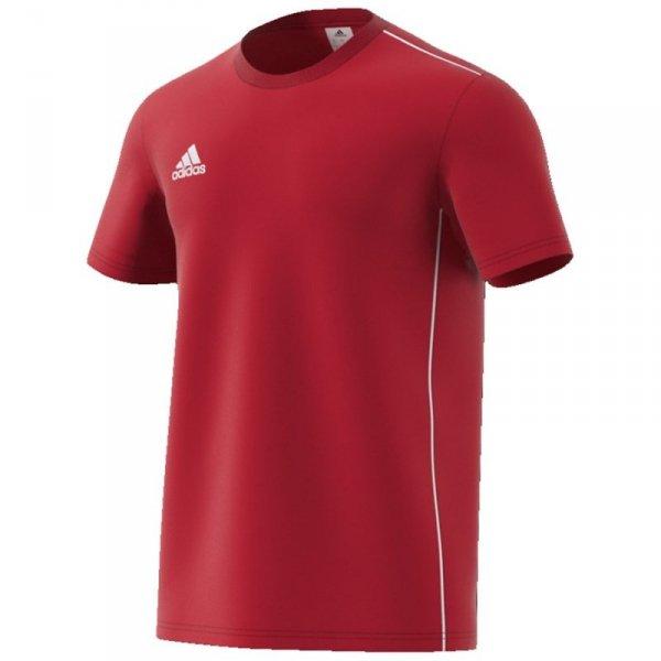 Koszulka adidas CORE 18 Tee CV3982 czerwony XXL
