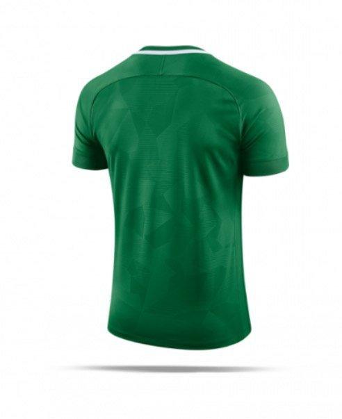 Koszulka Nike Y NK Dry Chalang II JSY SS 894053 341 zielony S (128-137cm)