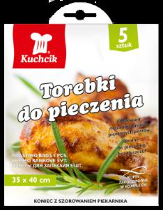 KUCHCIK 2412 TOREBKI DO PIECZENIA 35x40cm A5