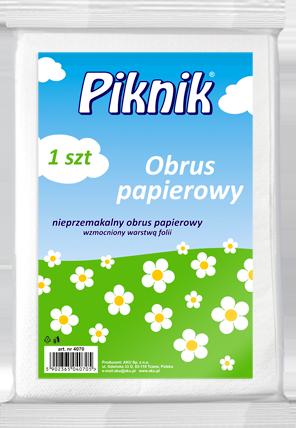 PIKNIK OBRUS PAPIEROWY A1