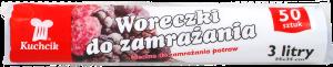 KUCHCIK 2916 WORECZKI DO ZAMRAŻANIA 3L A50