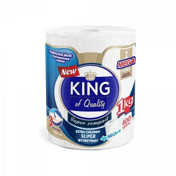 KING OF QUALITY RĘCZNIK PAPIEROWY 400 LISTKÓW 3W