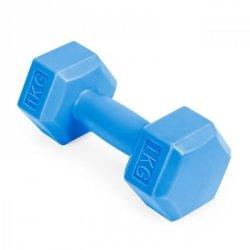 Hantle fitness zestaw hantelki ciężarki 2x 1 kg
