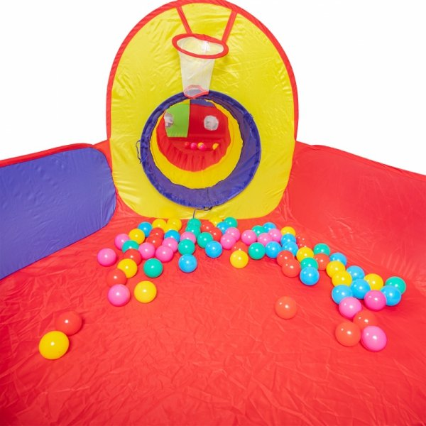 Namiot plac zabaw - suchy basen + piłeczki