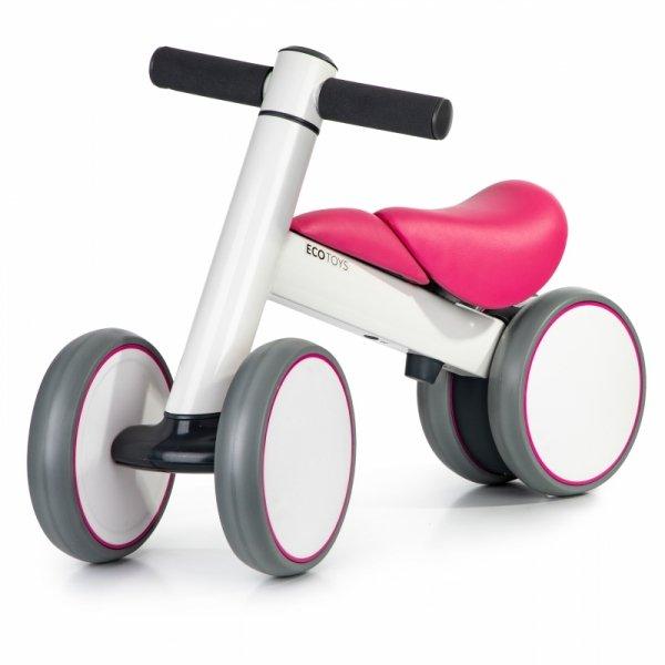 Rowerek biegowy mini rower chodzik jeździk Ride Pink