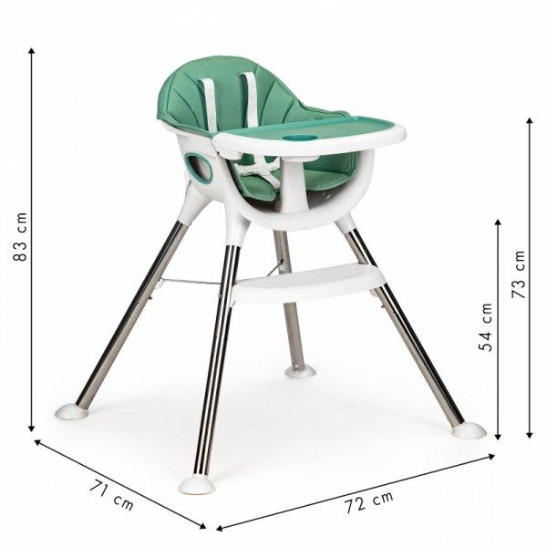 Fotelik krzesełko do karmienia dzieci Ecotoys