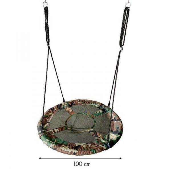 Huśtawka ogrodowa bocianie gniazdo 100cm ECOTOYS