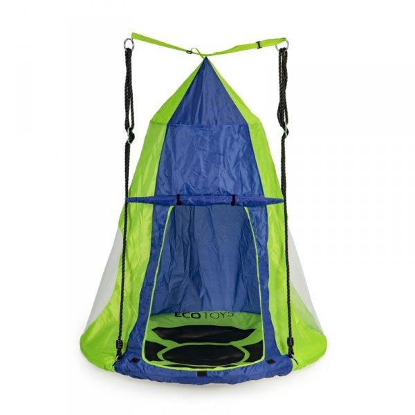 Namiot na huśtawkę bocianie gniazdo domek ogrodowy