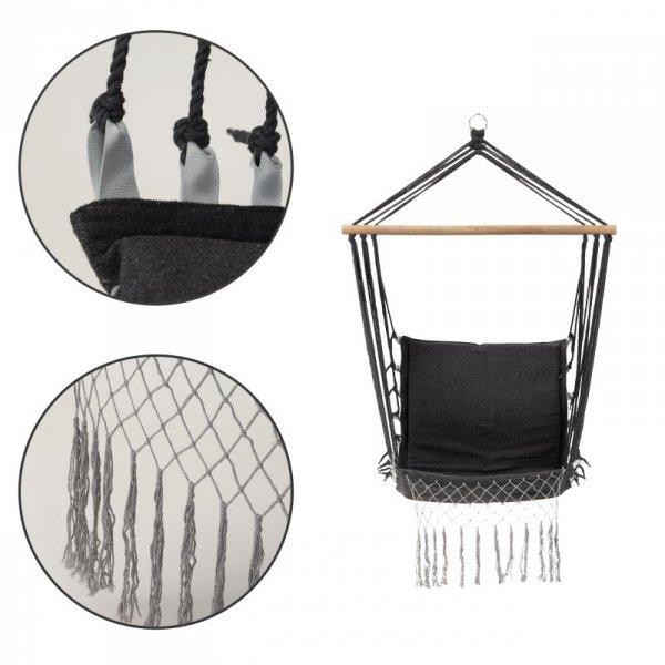 Krzesło brazylijskie fotel wiszący huśtawka hamak