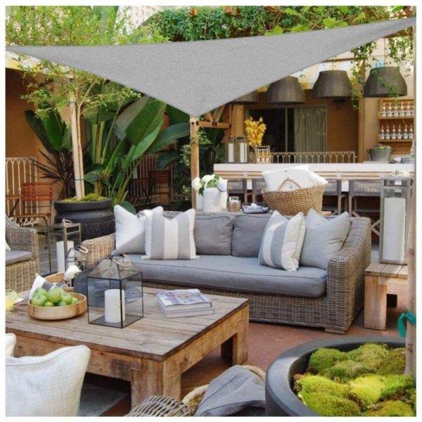 Żagiel przeciwsłoneczny daszek parasol ogród 3,6m