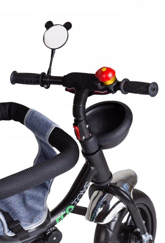 Rowerek trójkołowy z obracanym siedzeniem