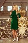 Sukienka z kokardkami Alicja - Jasny Zielony