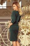 Sukienka sportowa - Zieleń Butelkowa - numoco 13-99