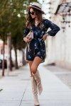 Sukienka w kwiaty CARLA - 3