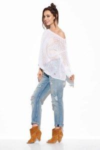 Ażurowy lekki sweter - StreetStyle LS280
