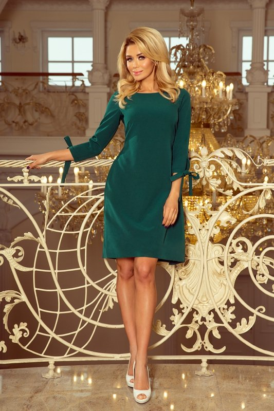 Sukienka z kokardkami Alice - Zielona