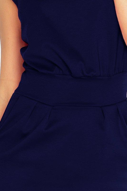 Sukienka Sara - Granatowa - numoco 144-4