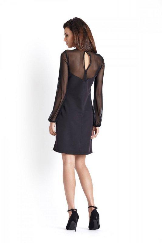 Elegancka sukienka Daniela - Czarna - ivon