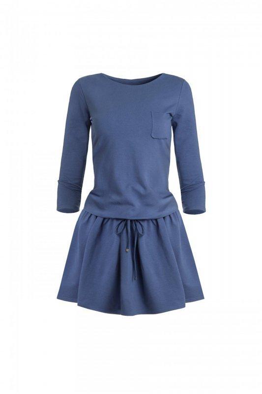 Sukienka o sportowym kroju Anette - Indygo - StreetStyle 273