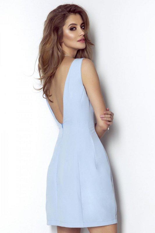 Sukienka April - Błękit