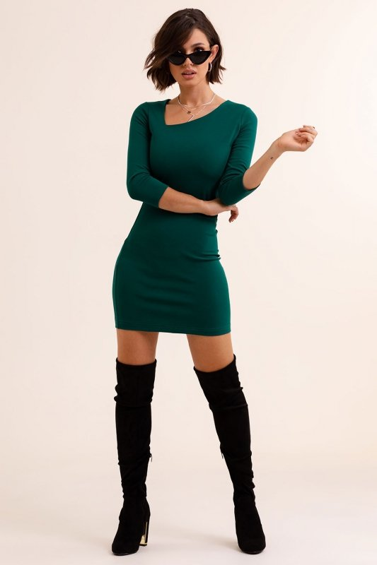 Sukienka Bambi - Zielona - 4