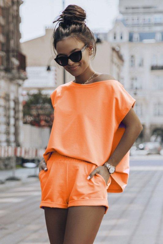 Komplet Dresowy Comfort - pomarańcz_1.jpg