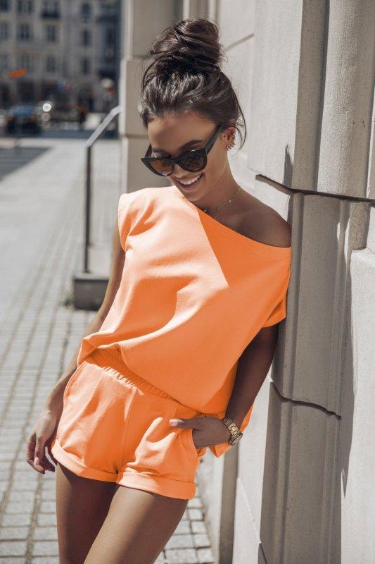 Komplet Dresowy Comfort - pomarańcz_2.jpg