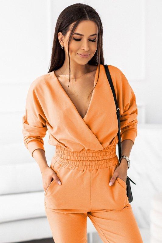 Komplet dresowy Perfect - Pomarańcz - od StreetStyle - 1