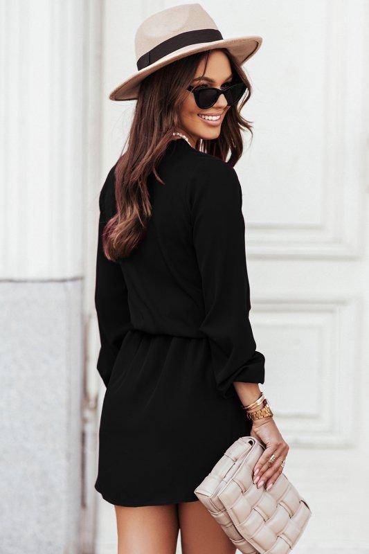 Sukienka CARLA - czarna - 2