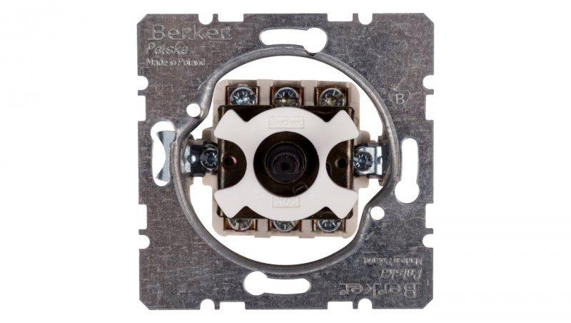 Berker/B.Kwadrat Łącznik żaluzjowy 2-biegunowy obrotowy 533842