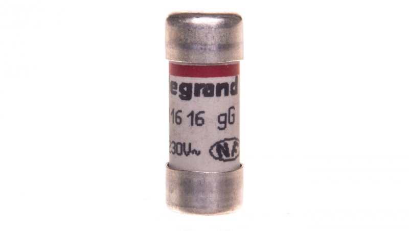 Wkładka bezpiecznikowa cylindryczna 10,3x25,8mm 16A 230V 011616