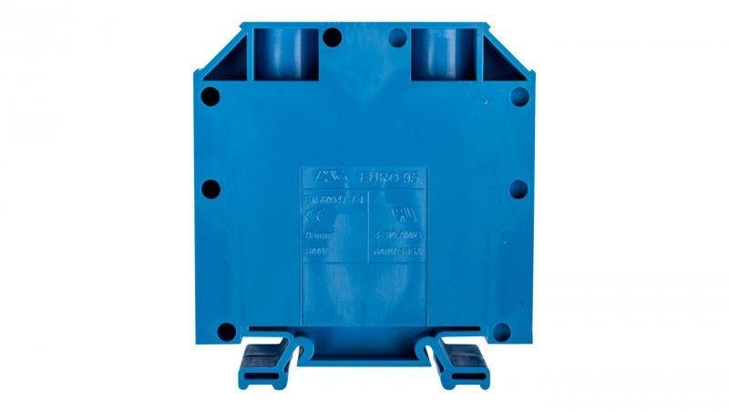 Złączka szynowa gwintowa ZSG ( ZUG ) 95mm2 niebieska 43426BL
