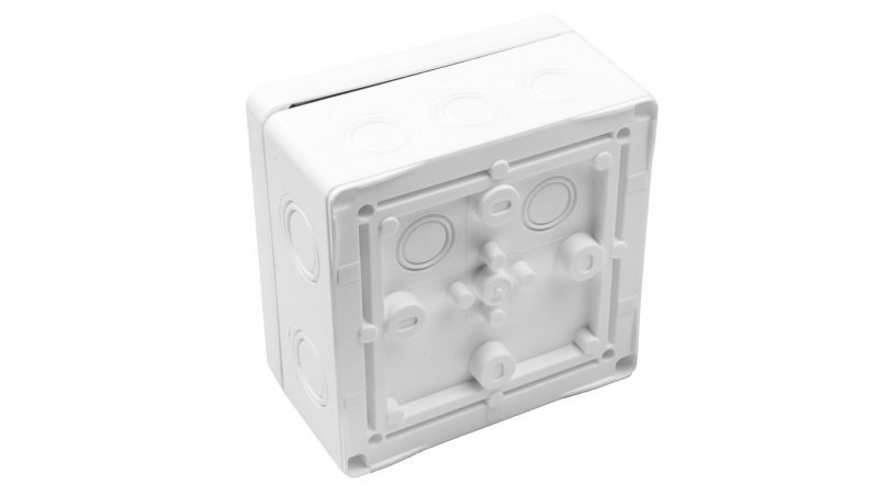 Puszka n/t hermetyczna pusta 140x140x79mm IP65 biała FK311 83183006
