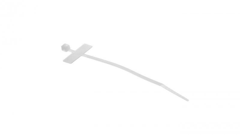 Opaska kablowa OIN 25x100 biała 25.508 /100szt./