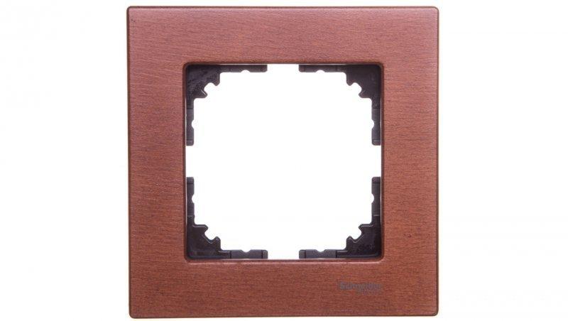 Merten M-Elegance Ramka pojedyncza drewno wiśniowy MTN4051-3472